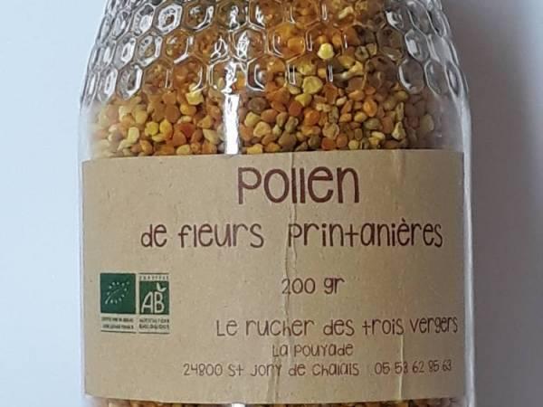 pollen bio du Périgord vert